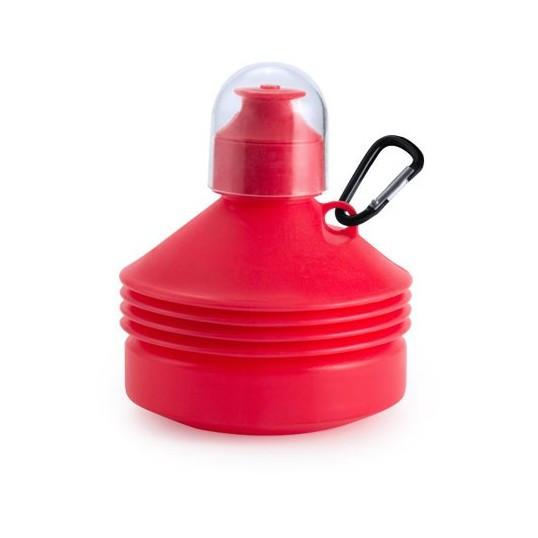 Regalos Corporativos botellas plegables roja