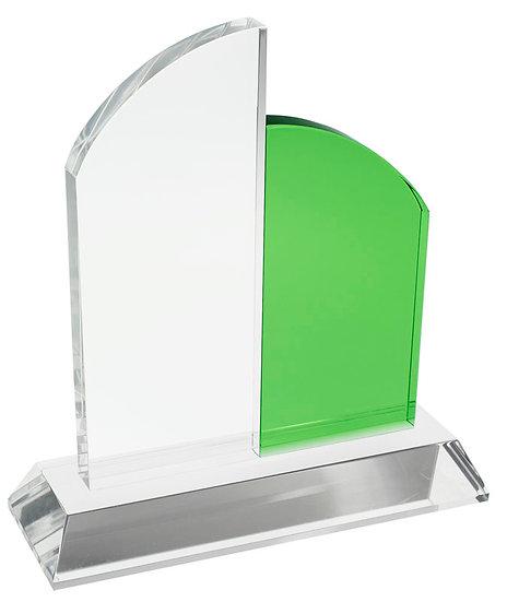 Trofeo Cristal Catedral Verde