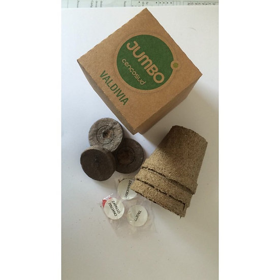 P123 - Kit siembra Harvest Caja Cartón