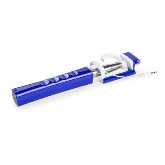 selfie stick azul