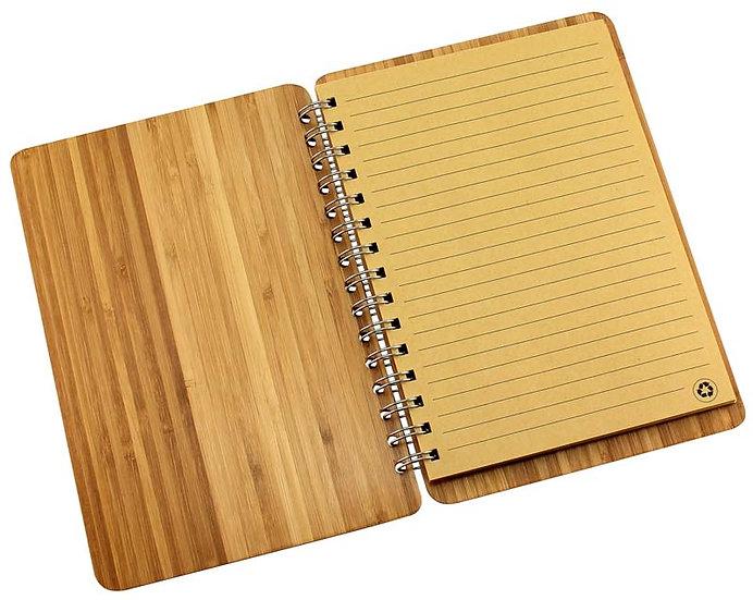 E71 - Deluxe Cuaderno de Bamboo