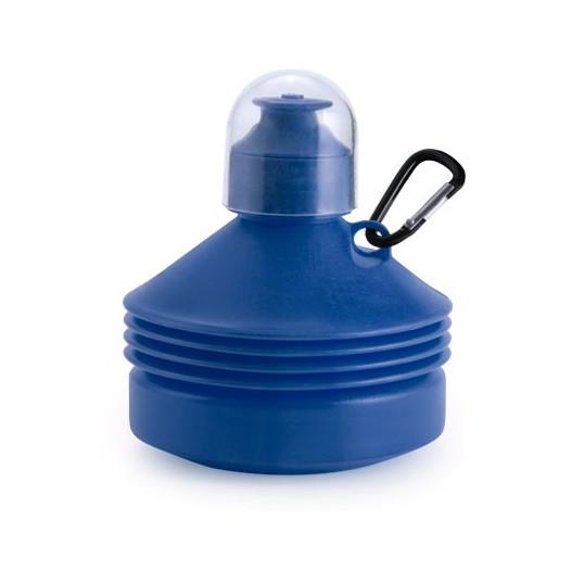 Regalos Corporativos botellas plegables azul