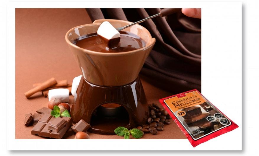 Coberturas sucedáneas de chocolate ESPECIAL PARA CASCADA