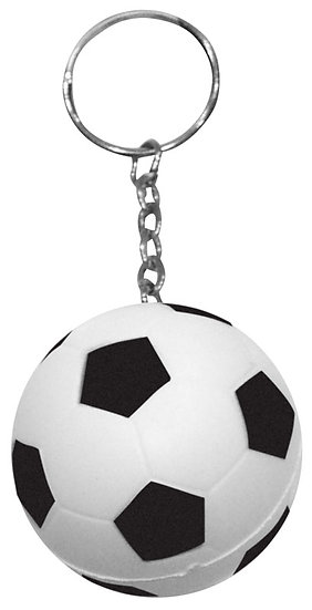 D10 - Llavero Anti-Stress Fútbol