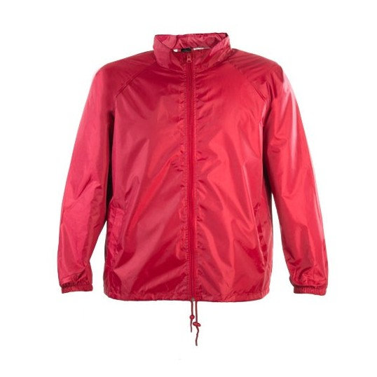 IMPERMEABLE ROJO