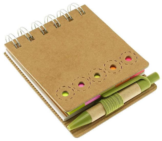 E11 - Memo Set Ecológico con Bolígrafo