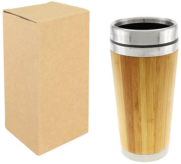 E57 - Mug de Bamboo 420cc
