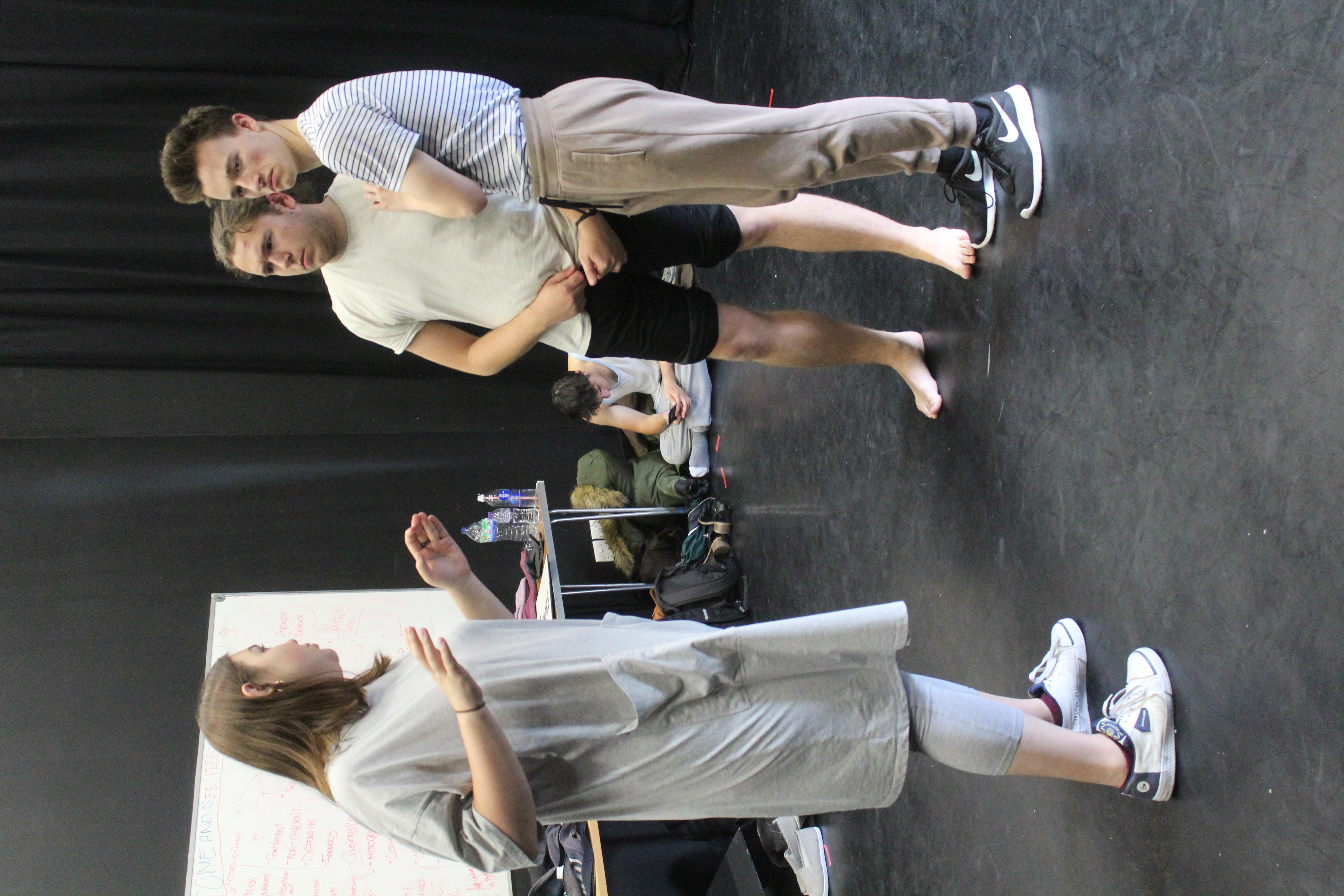 Fleeced Rehearsal