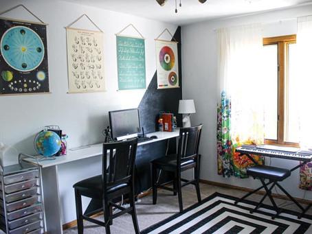 Home Classroom Makeover