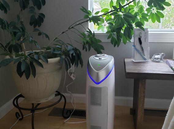 Airpure HEPA filter plus UV lamp