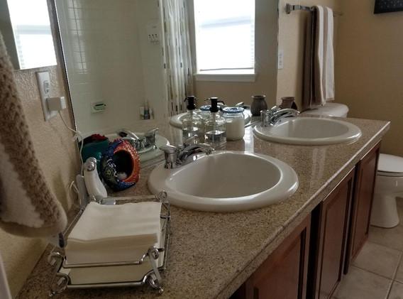 Clients' restroom