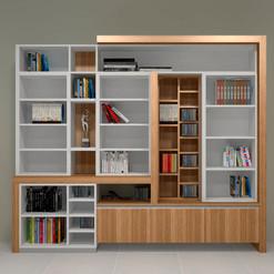 Mueble de estantería