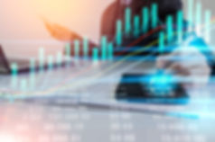 Business Man On Digital Stock Market Fin