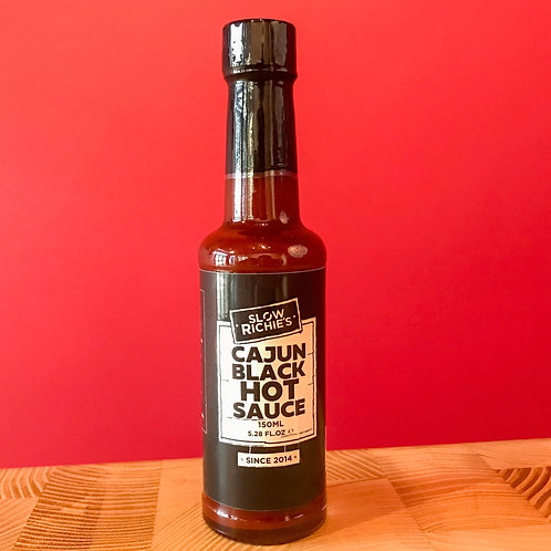 Cajun Black Hot Sauce - Slow Richies