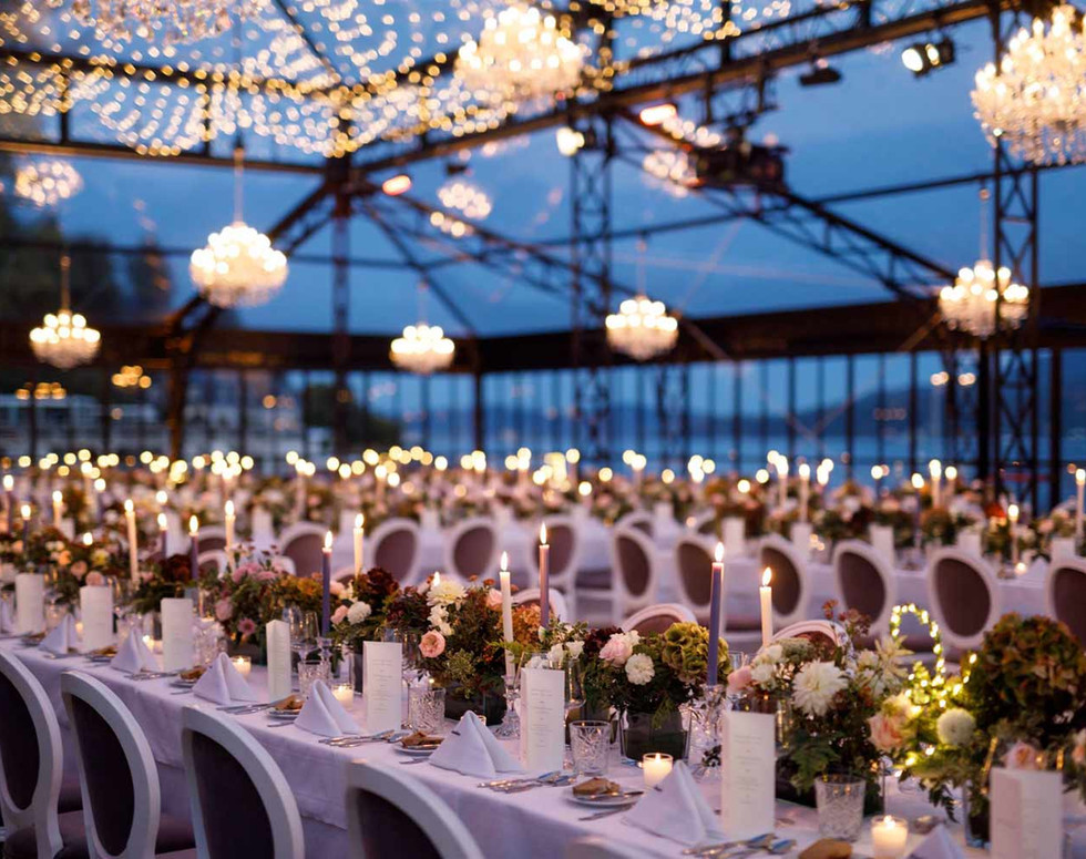 Private wedding decoration, lighting technology chandeliers