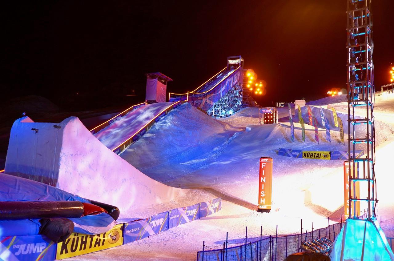 Mountain Events - Skisprungrampe