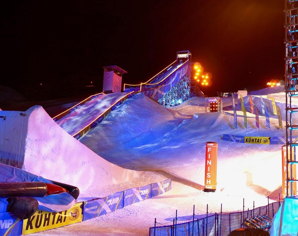 Mountain Events - ski jumping ramp