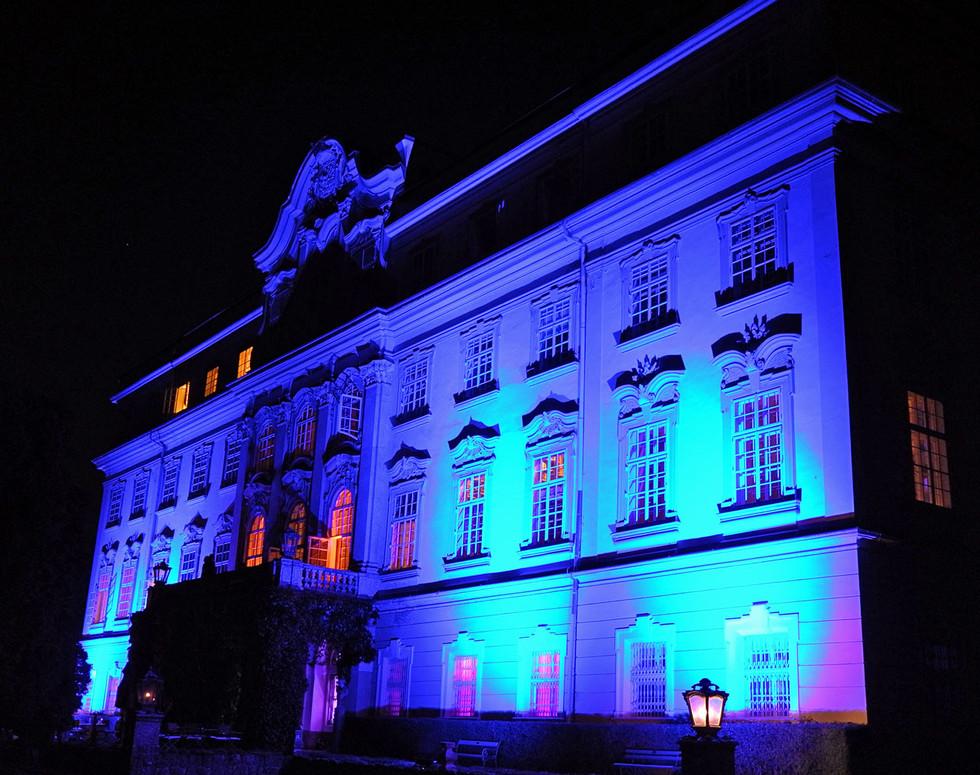 Lichtdesign, Fassadenbeleuchtung
