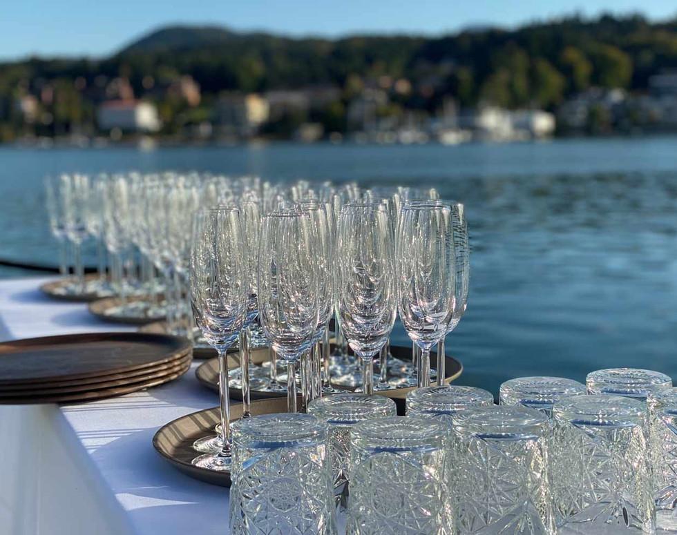 Private wedding aperitif, bar, drinks