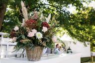 Hochzeit, Garten Party