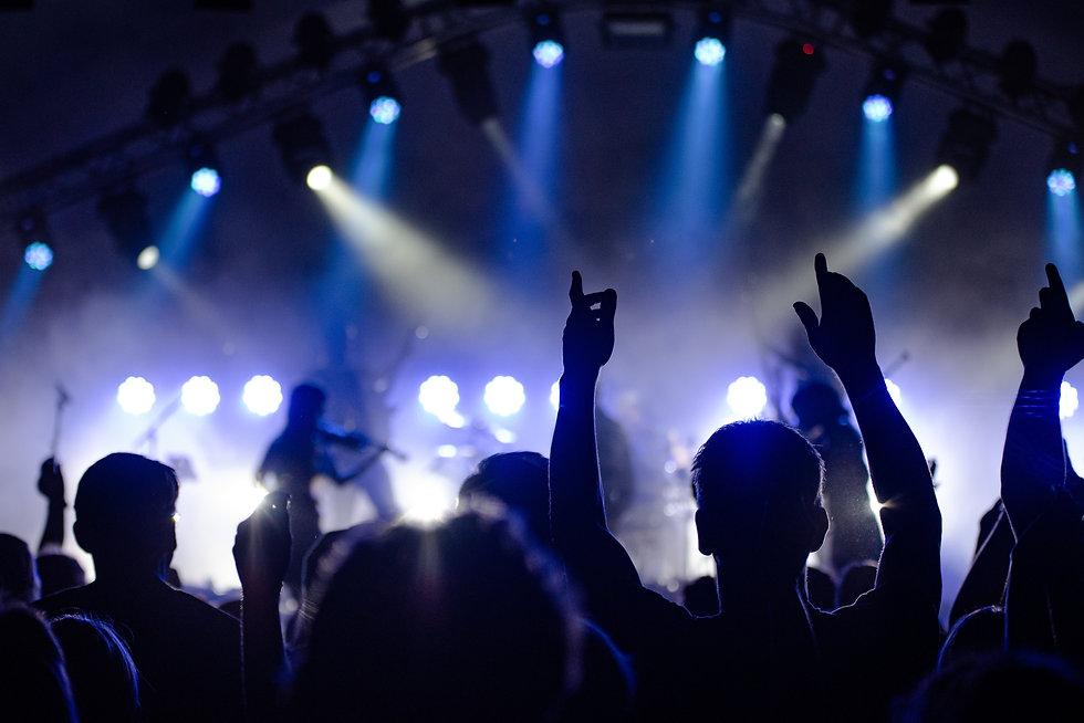 Konzert, Lichttechnik, Audio, Scheinwerfer, Event
