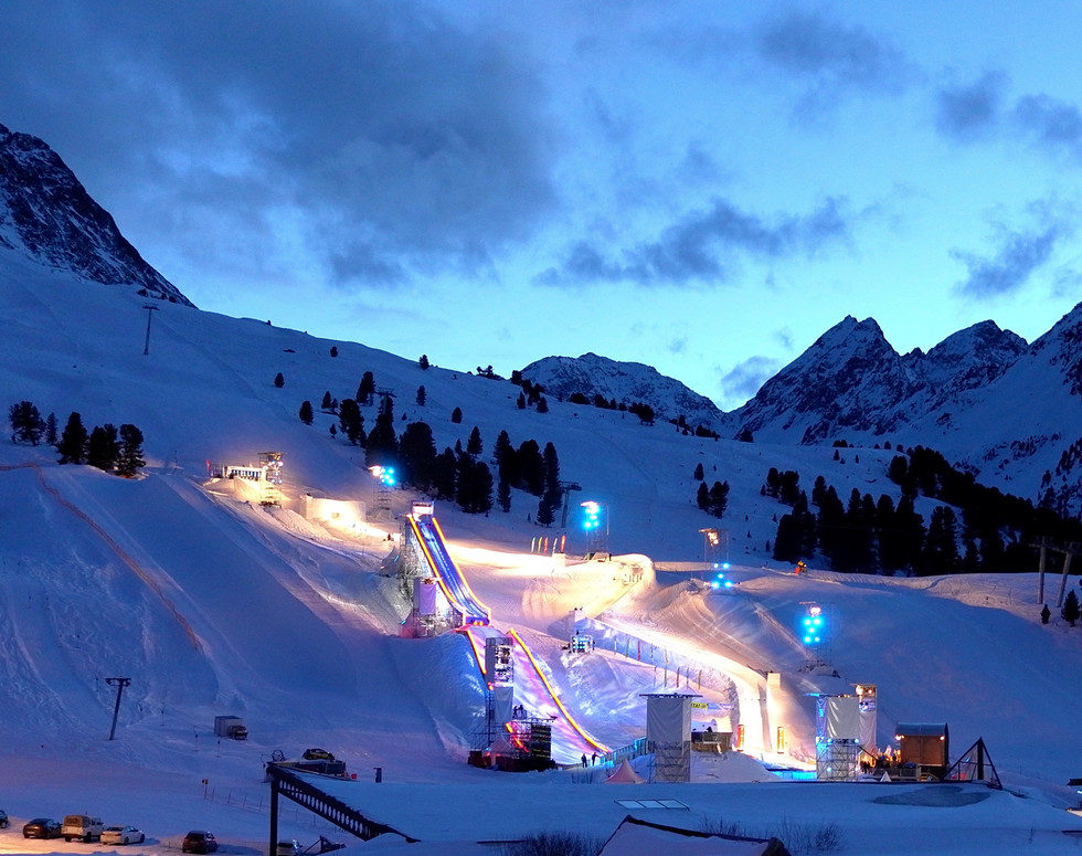 Mountain events lighting technology