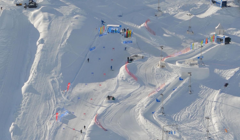 mountain events winter - Abfahrt - Ski