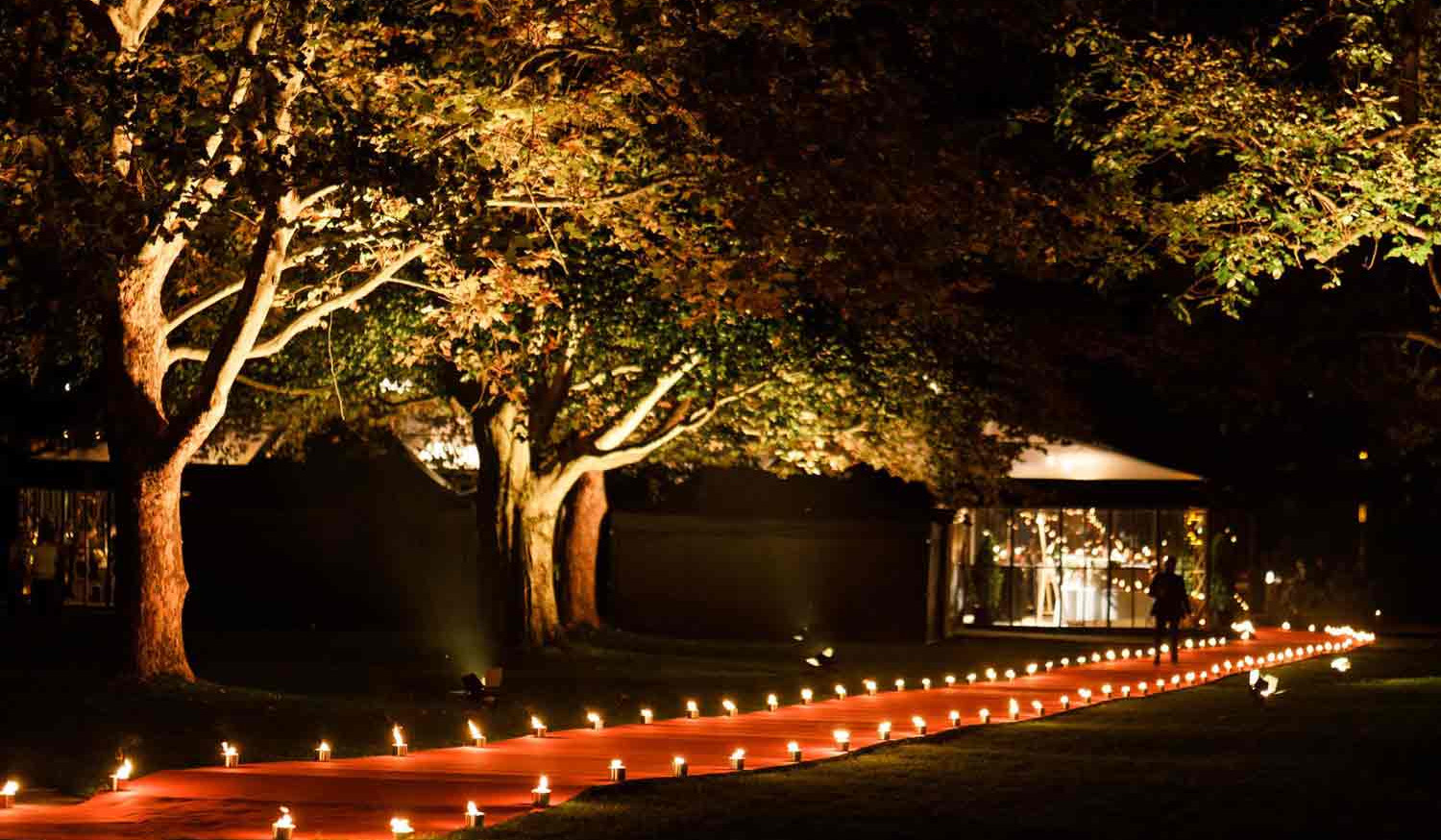 Private Wedding roter Teppich