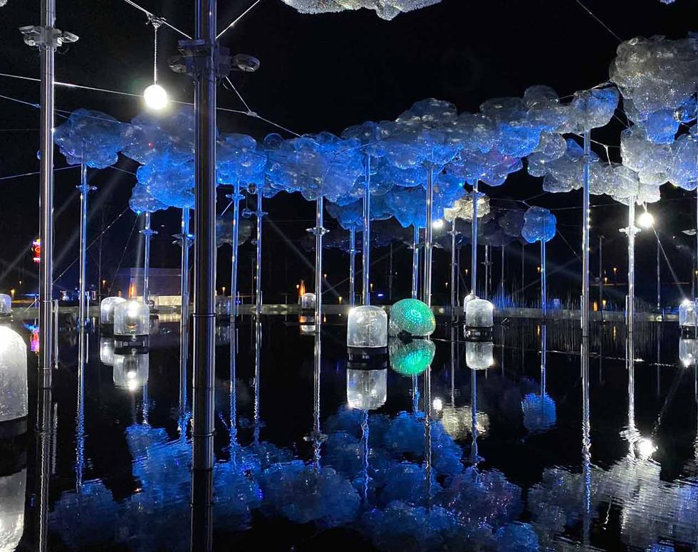 Light festival spotlights