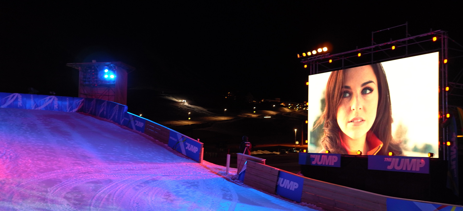 Mountain Events LED Screen