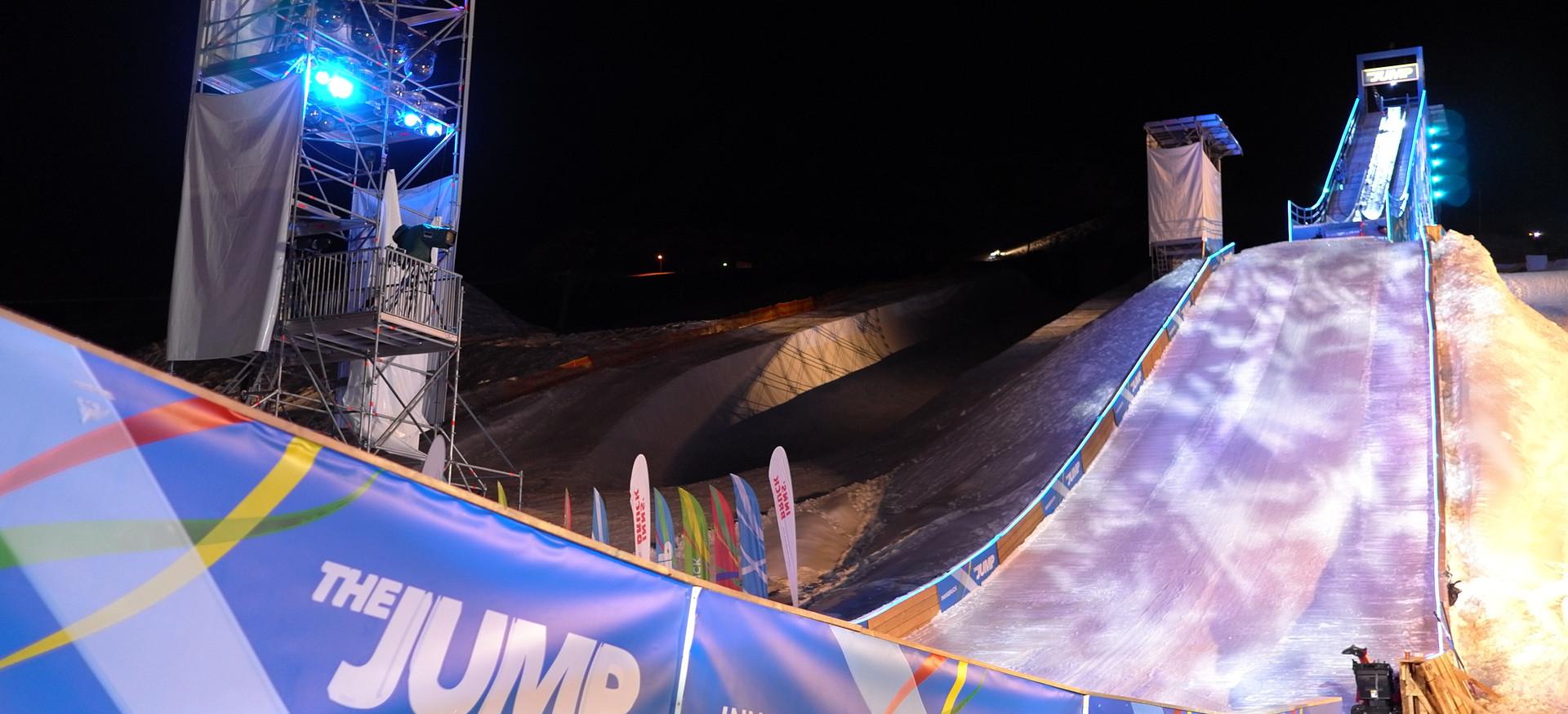 Mountain Events, Halfpipe, Skisprungschanze