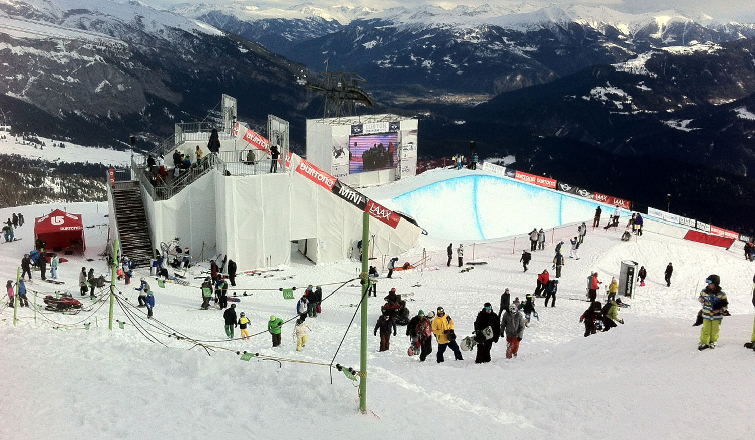 mountain events winter - Rampe