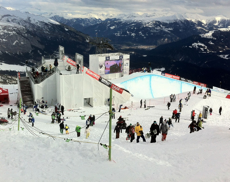 mountain events winter - ramp