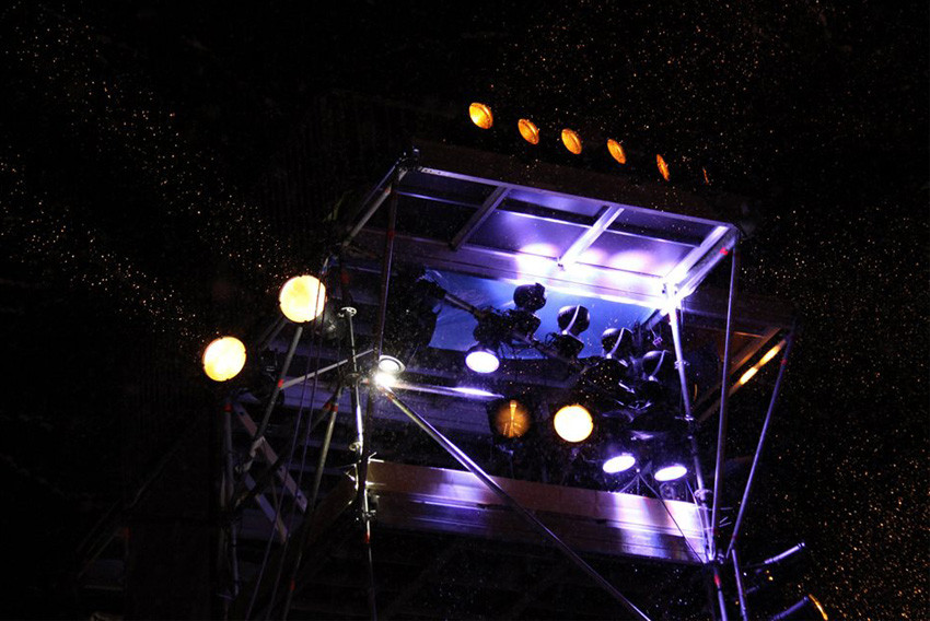 Mountain event tower - lighting technology