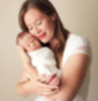 baby and mom newborn images, Raymore, MO photogapher