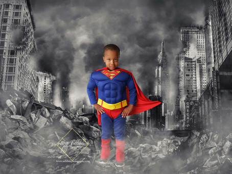 Lee's Summit Child Photographer-Superhero Petite Sessions