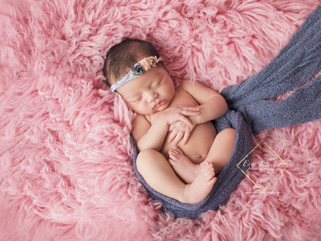 Raymore Newborn Photographer | Baby L Newborn Session