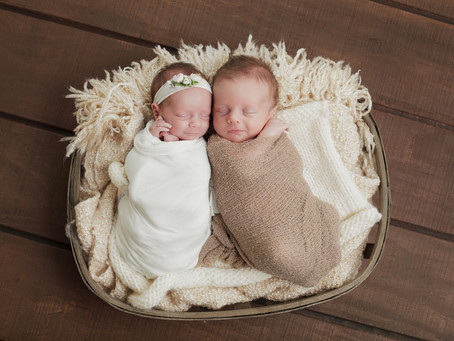 KC Newborn Photographer| Newborn Twins