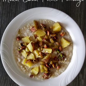 Millet - Sweet Potato Porridge | Yoga of Eating
