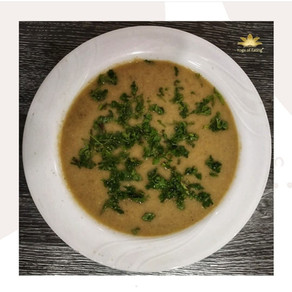 Avocado Veggie Soup | Yoga of Eating