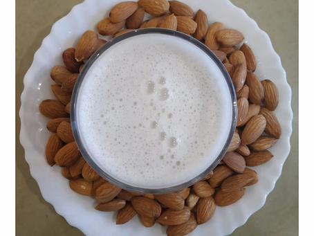 Home Made Almond Milk | Yoga of Eating