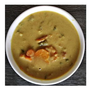 Coconut Curry with Veggies | Yoga of Eating