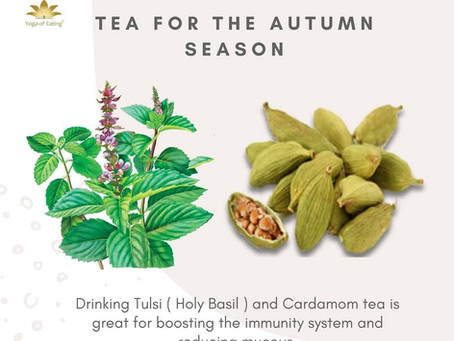 Tea for the Autumn Season | Yoga of Eating
