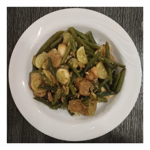 Green Beans with Water Chest Nuts & Zucchini Recipe