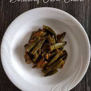 Delicious Okra Onion Recipe   Yoga of Eating