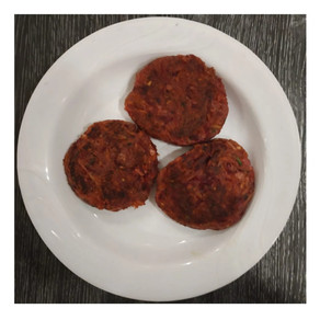 Raw Banana and Beetroot Patties