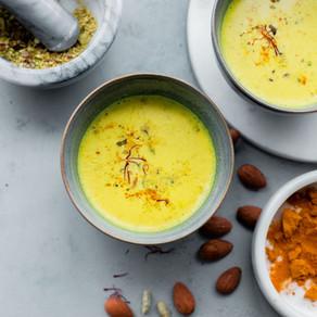 Home Made Almond Milk to Aid Sleep | Yoga of Eating