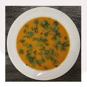 Red and Yellow Capsicum Soup   Yoga of Eating