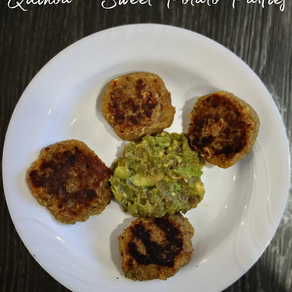 Quinoa Sweet Potato Patties | Yoga of Eating