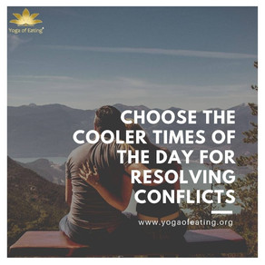 Conflict Resolution | Yoga of Eating